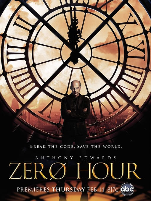 Zero Hour Poster ABC Season 1