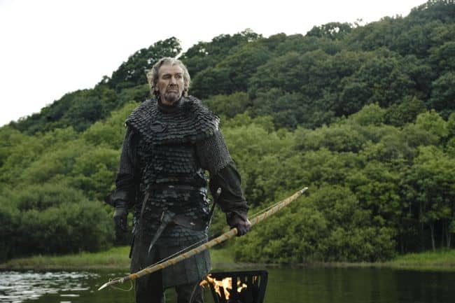 "Clive Russell as Brynden ""The Blackfish"" Tully Game Of Thrones Season 3 Cast"