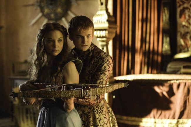 Jack Gleeson as Joffrey Baratheon, Natalie Dormer as Margaery Tyrell Game Of Thrones Season 3 Cast