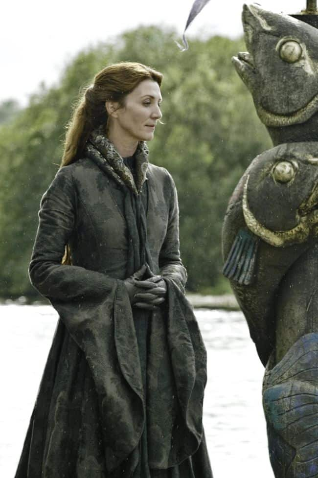 Michelle Fairley as Catelyn Stark Game Of Thrones Season 3 Cast