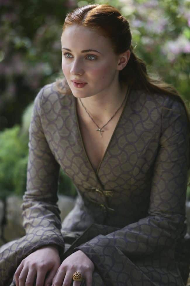 Sophie Turner as Sansa Stark Game Of Thrones Season 3 Cast