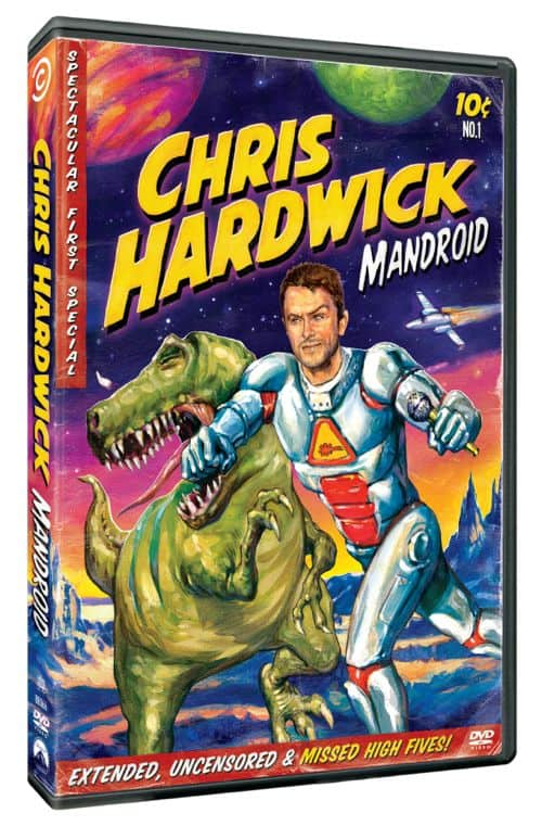 Chris Hardwick Mandroid DVD
