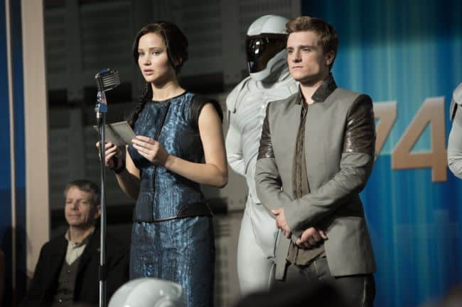 The Hunger Games Catching Fire Jennifer Lawrence Josh Hutcherson
