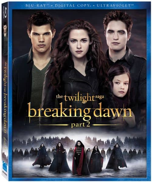 THE TWILIGHT SAGA BREAKING DAWN PART 2 BLURAY