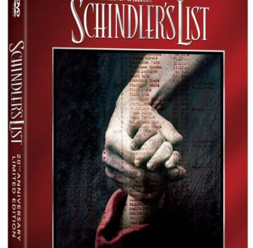 SCHINDLER'S LIST BLURAY