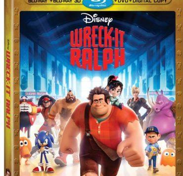 Wreck It Ralph Bluray DVD