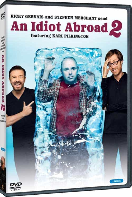 An Idiot Abroad 2 DVD