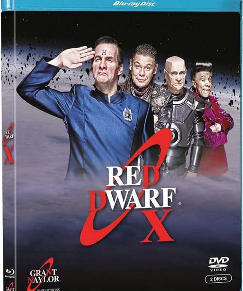 Red Dwarf X Bluray