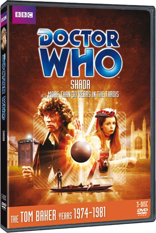 Doctor Who Shada DVD