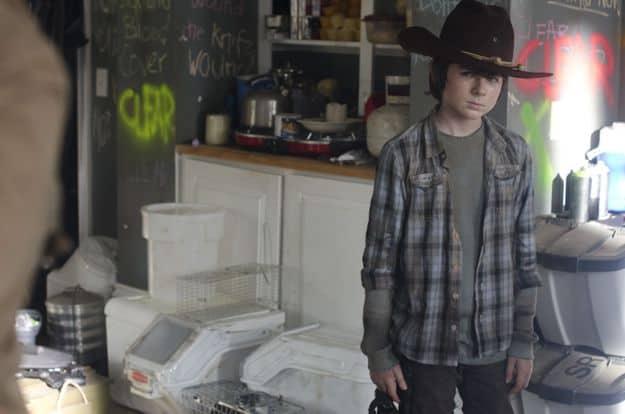 Carl Grimes (Chandler Riggs) - The Walking Dead - Season 3, Episode 12