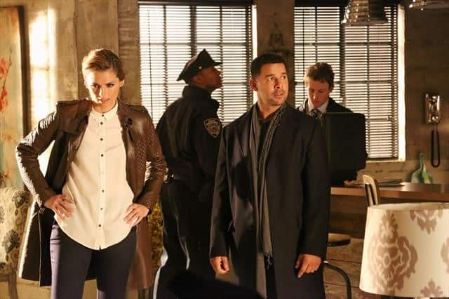 Castle Season 5 Episode 17 STANA KATIC, JON HUERTAS