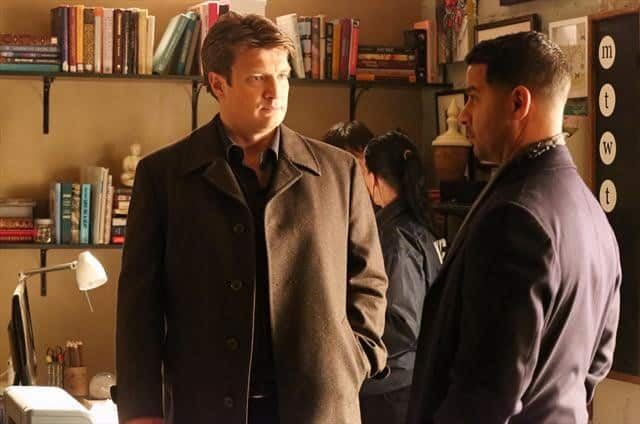 Castle Season 5 Episode 17 NATHAN FILLION, JON HUERTAS