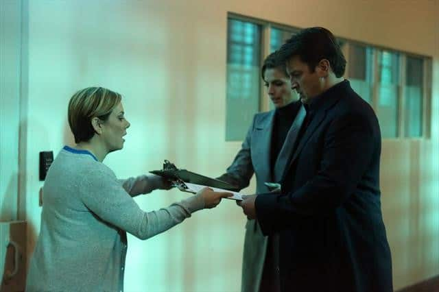 Castle Season 5 Episode 17 ROMY ROSEMONT, STANA KATIC, NATHAN FILLION