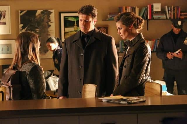 Castle Season 5 Episode 17 VIVIAN KERR, NATHAN FILLION, STANA KATIC