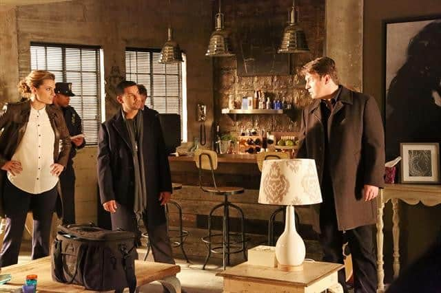 Castle Season 5 Episode 17 STANA KATIC, JON HUERTAS, NATHAN FILLION