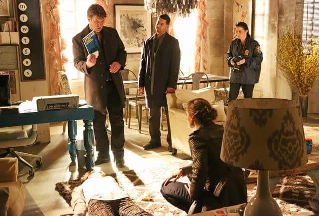 Castle Season 5 Episode 17 NATHAN FILLION, JON HUERTAS, STANA KATIC