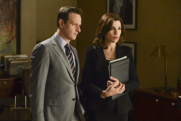 """Invitation to an Inquest"" Alicia (Julianna Margulies) and Will's (Josh Charles) latest case brings them to an inquest at the coroner's office"