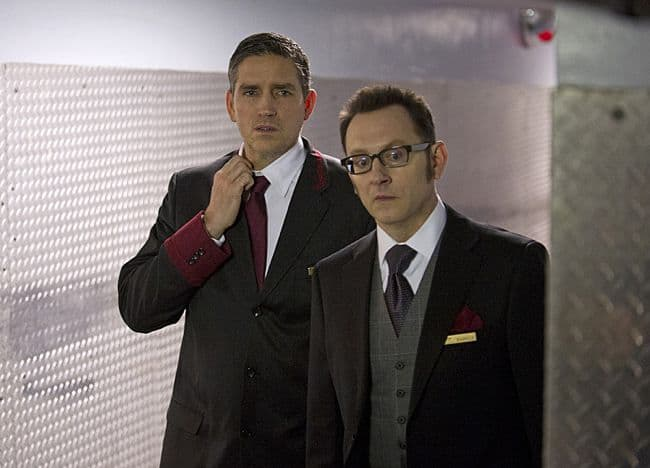 Jim Caviezel Michael Emerson Person of Interest