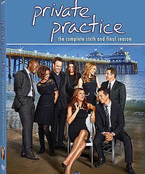 Private Practice Season 6 DVD