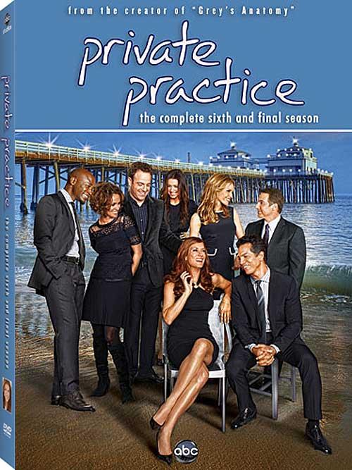 Private Practice Season 6 DVD