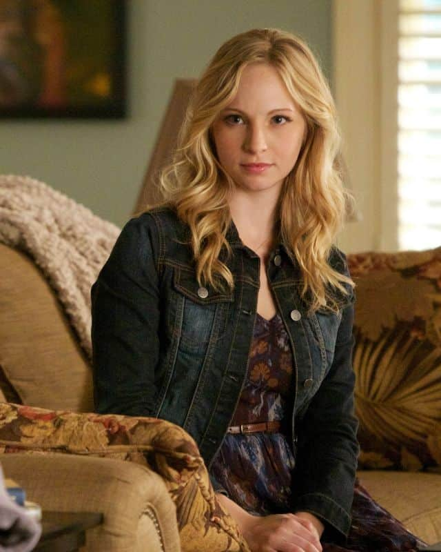 Candice Accola as Caroline The Vampire Diaries