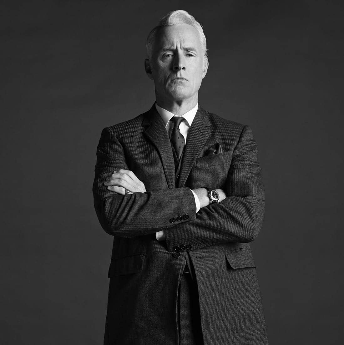 Roger Sterling (John Slattery) - Mad Men_Season 6, Gallery - Photo Credit: Frank Ockenfels/AMC