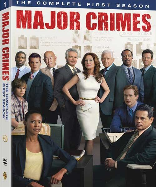 Major Crimes Season 1 DVD
