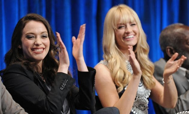 2 Broke Girls PaleyFest 2013