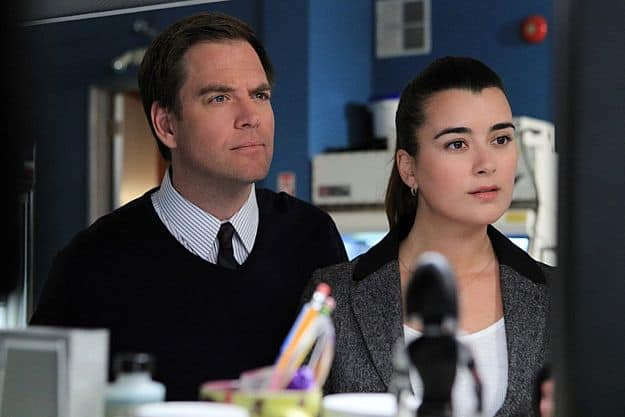 Michael Weatherly and Cote de Pablo Photo