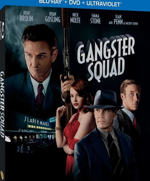 Gangster Squad Bluray DVD