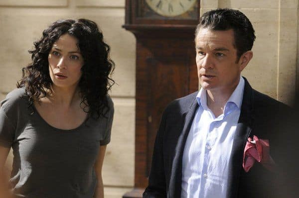 Joanne Kelly as Myka Bering, James Marster as Prof. Sutton