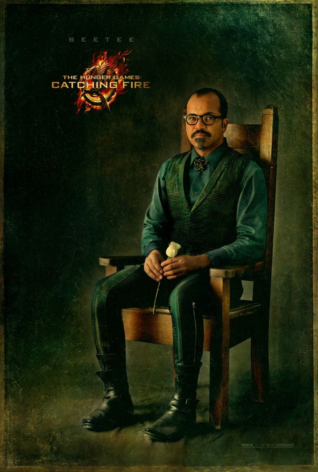 THE HUNGER GAME CATCHING FIRE Beetee Character Poster