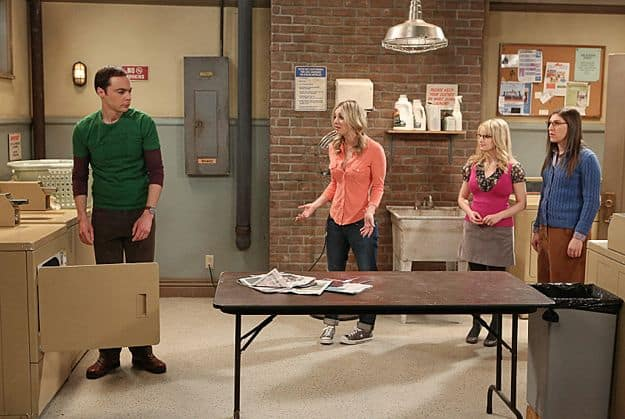Jim Parsons, Kaley Cuoco, Melissa Rauch and Mayim Bialik