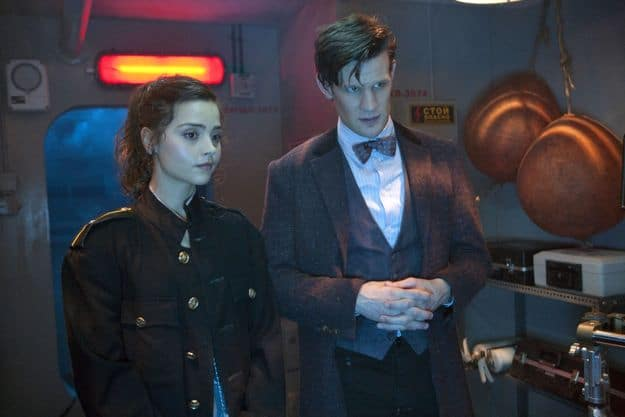 Doctor Who, Season 7.2, Episode 3, Clara (Jenna-Louise Coleman) and the Doctor (Matt Smith)