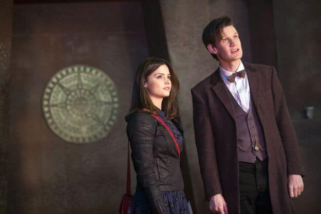 Doctor Who, Season 7.2, Episode 2, Clara (Jenna-Louise Coleman) and the Doctor (Matt Smith)
