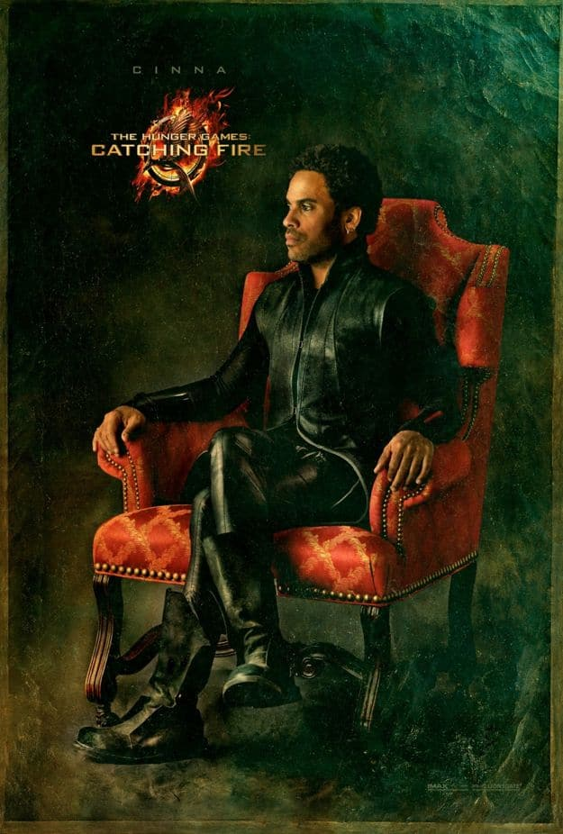The Hunger Games Catching Fire Cinna Character Poster