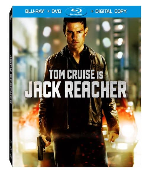 Jack Reacher Bluray DVD