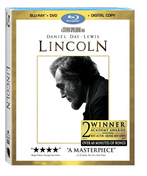Lincoln Bluray DVD