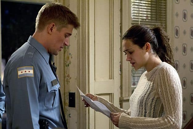 Tyler Jacob Moore as Tony Markovich and Emmy Rossum as Fiona Gallagher in Shameless (Season 3, episode 8)