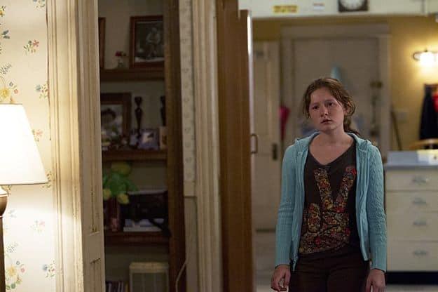 Emma Kenney as Debbie Gallagher in Shameless (Season 3, episode 8)