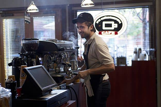 Justin Chatwin as Jimmy in Shameless (Season 3, episode 8)