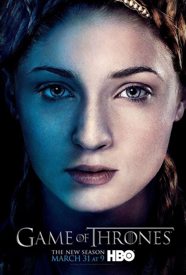 Sansa Stark Game Of Thrones Season 3 Cast