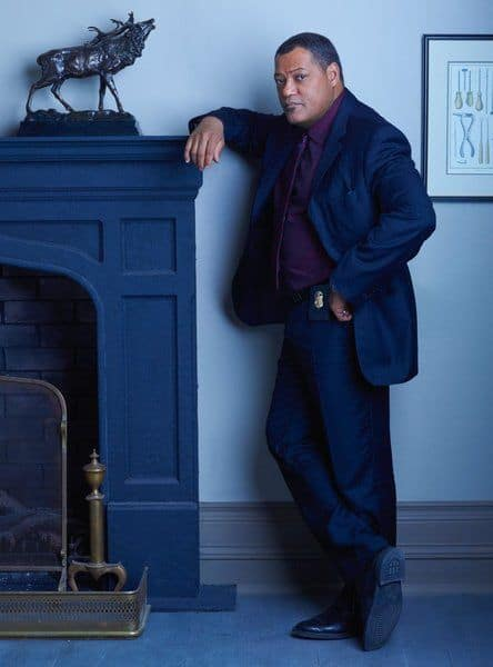 Laurence Fishburne as Agent Jack Crawford Hannibal - Season 1
