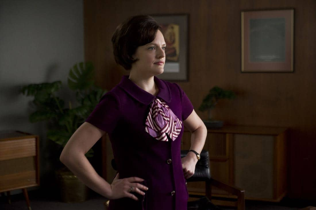 "Peggy Olson (Elisabeth Moss) - Mad Men_Season 6, Episode 3_""The Collaborators"" - Photo Credit: Ron Jaffe/AMC"