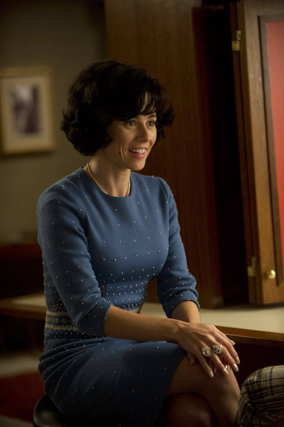 "Sylvia Rosen (Linda Cardellini) - Mad Men_Season 6, Episode 3_""The Collaborators"" - Photo Credit: Ron Jaffe/AMC"