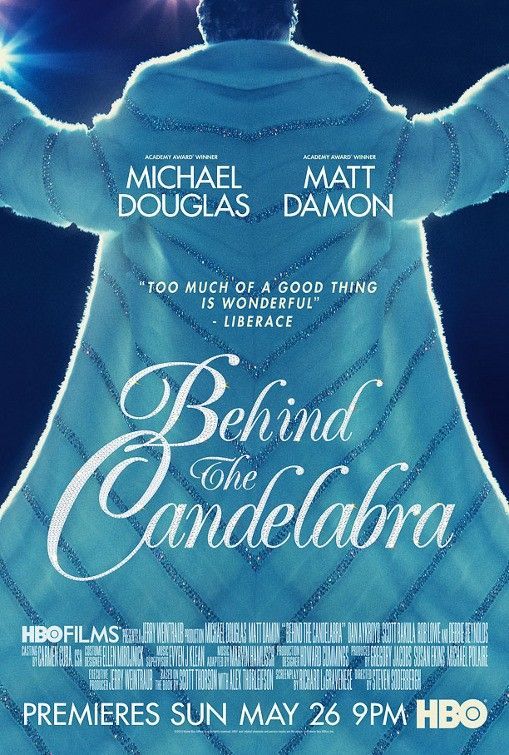 Behind The Candelabra Poster HBO