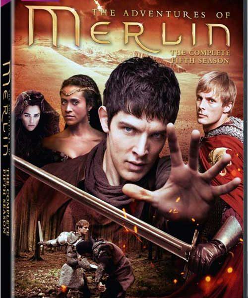 Merlin Season 5 DVD