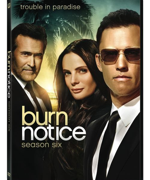 Burn Notice Season 6 DVD
