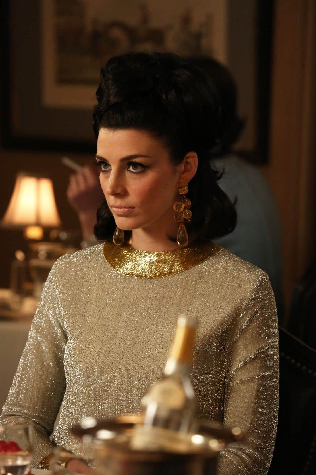 "Megan Draper (Jessica Pare) -Mad Men_Season 6, Episode 6_""For Immediate Release"" - Photo Credit: Michael Yarish/AMC"