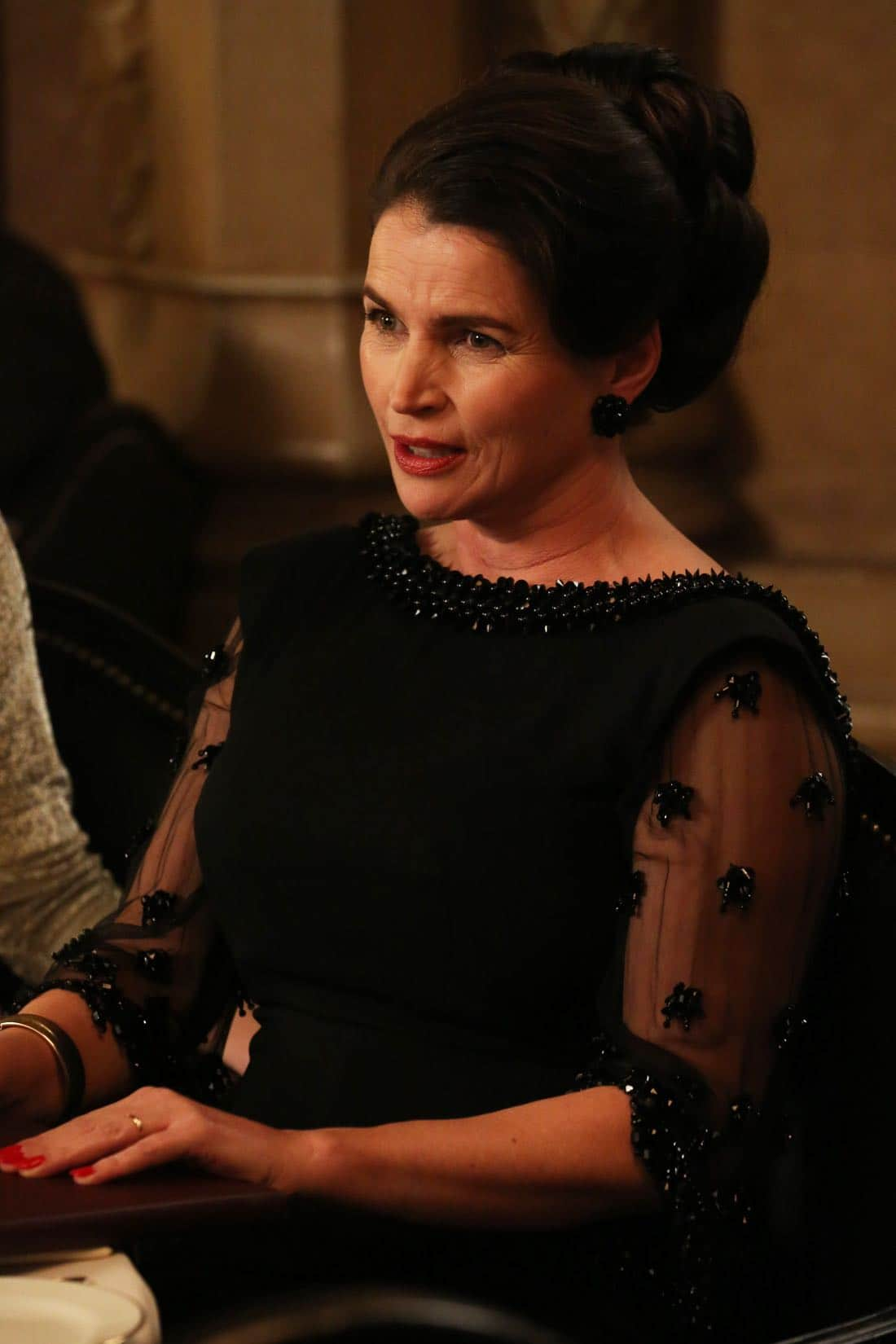 "Marie Calvet (Julia Ormond) - Mad Men_Season 6, Episode 6_""For Immediate Release"" - Photo Credit: Michael Yarish/AMC"